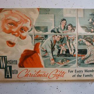 Western Auto Christmas Catalog