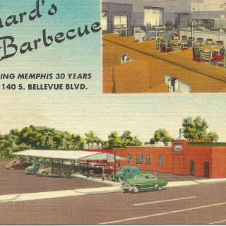 Leonard's Pit Barbecue South Memphis