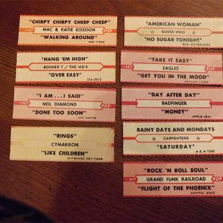 Juke Box Labels