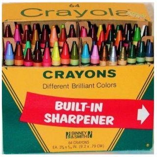 64 Crayons