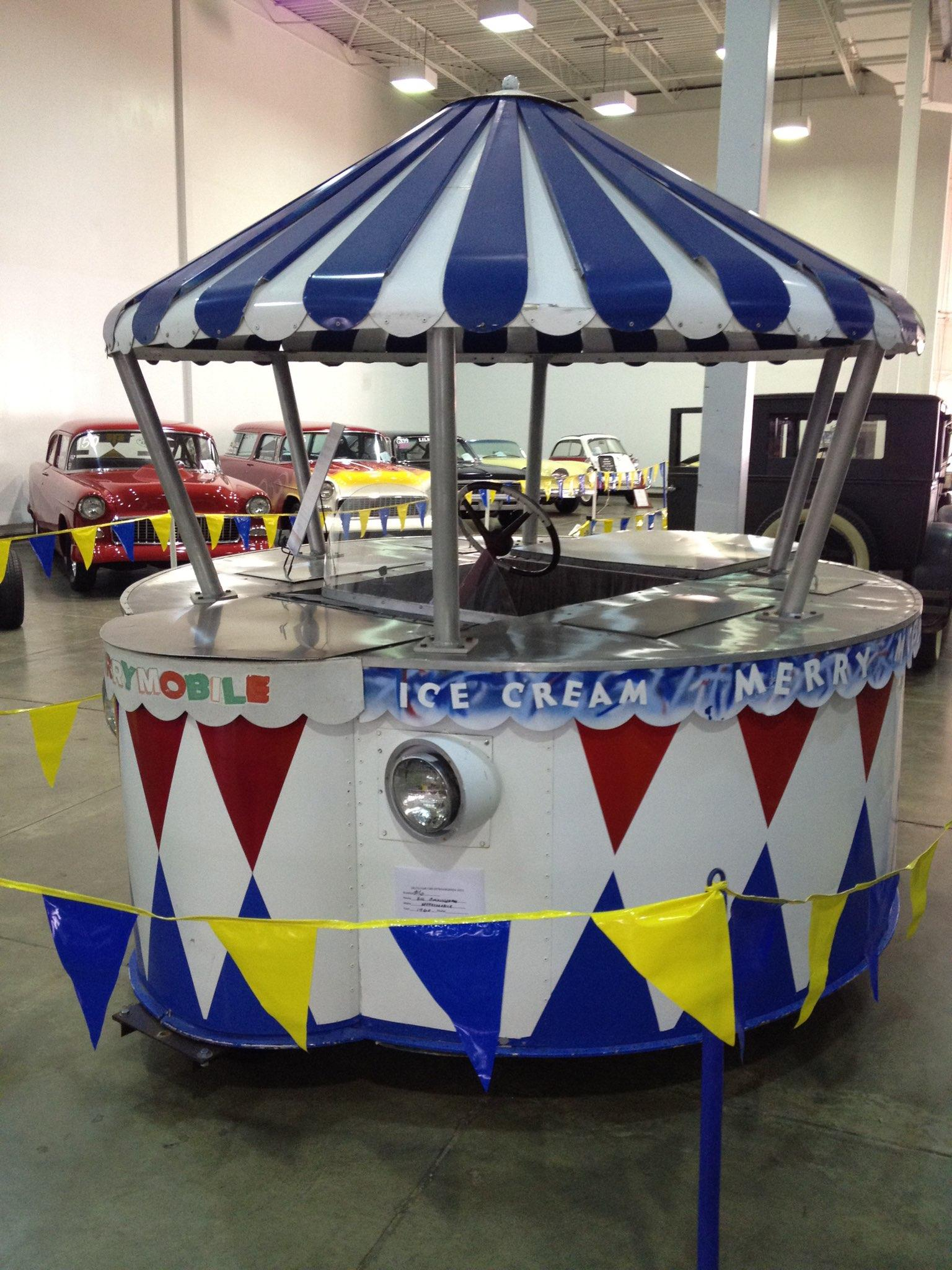 Ice Cream Truck For Sale >> Restored Merrymobile
